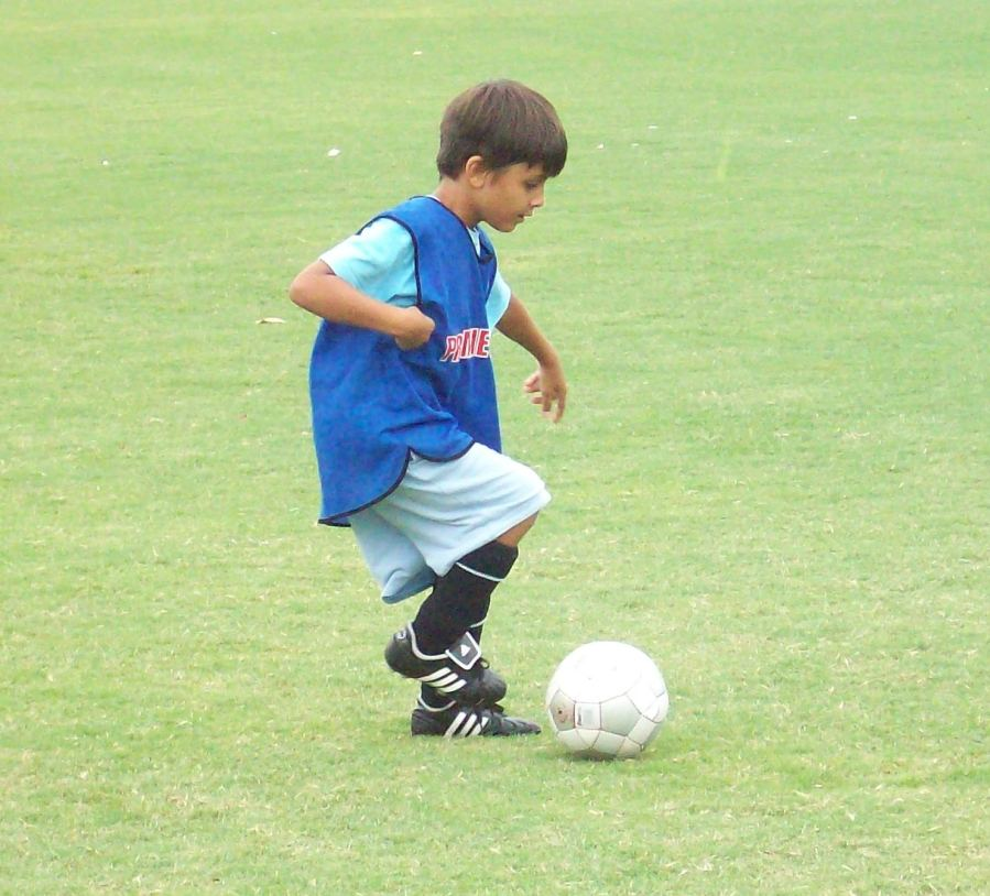 young-soccer-player
